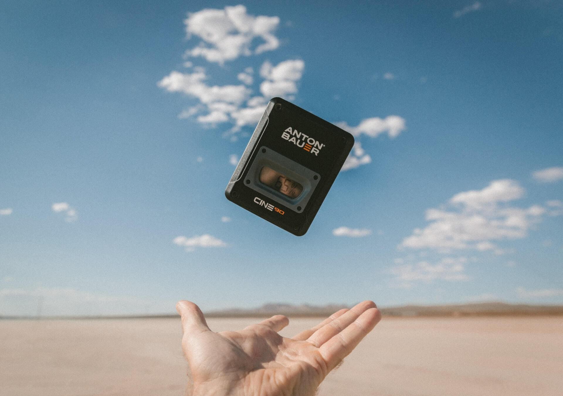 Anton Bauer Device on the Beach